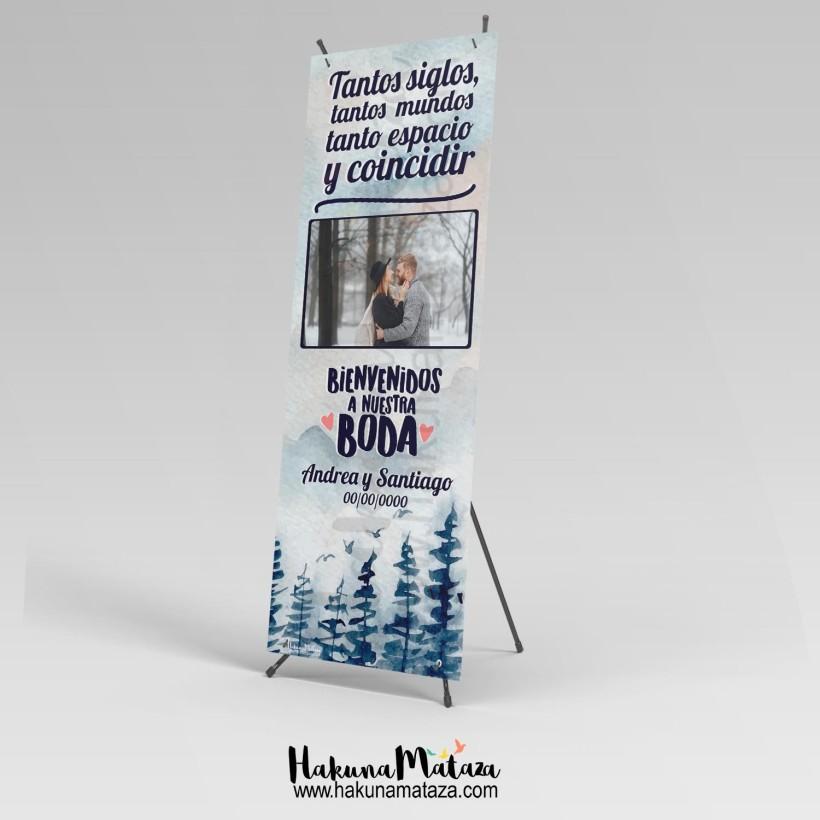 Banner con foto - Tantos siglos... y coincidir