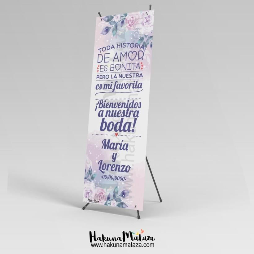 Banner - Toda historia de amor es bonita
